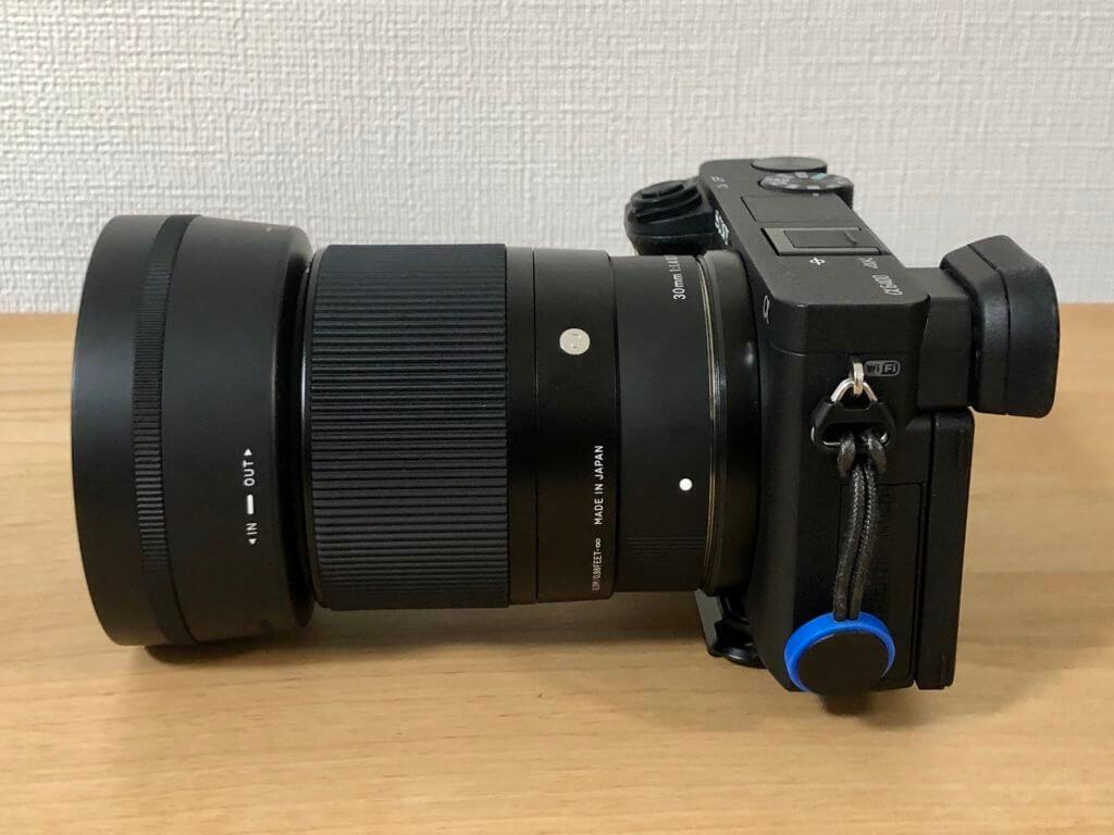 カメラに装着2