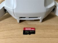 MavicMini SDカード